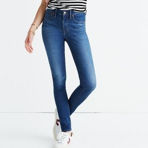 Madewell High Rise Skinny Jeans Size 29